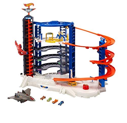 Hot Wheels Super Ultimate Garage, garaje para coches de juguete (Mattel FDF25)