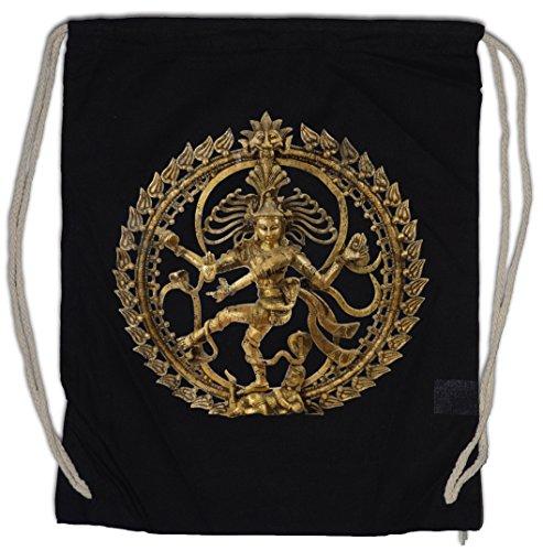 SHIVA II VINTAGE Turnbeutel Buddhismus Shivaismus Yoga Buddha Hinduismus OM Shirt