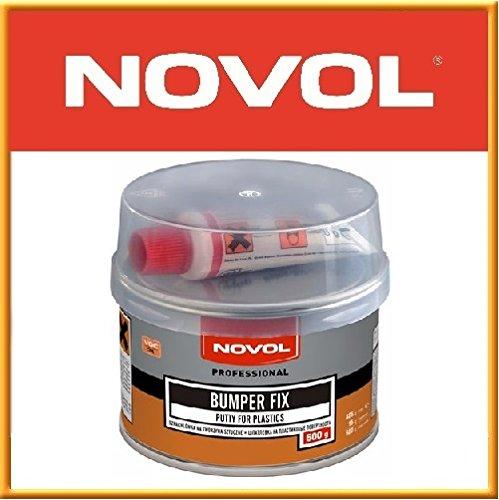 Novol Professional Repair Kit for Car BUMPER Trim FIX Filler 500g Putty  Plastic