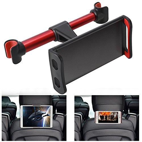 ZFITEI Universal-Auto-Kopfstütze Halterung Auto-Halterung für iPad, Samsung Galaxy, 11cm, Nintendo Switch und weitere Smartphones und Tablets (schwarz)