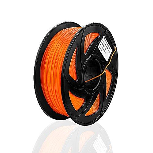 SIENOC 1,75 mm 3D Printer imprimeur flexible PLA Filament 1KG Bobine de fil plastique