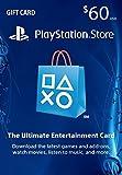 $60 PlayStation Store Gift Card (US PSN ...