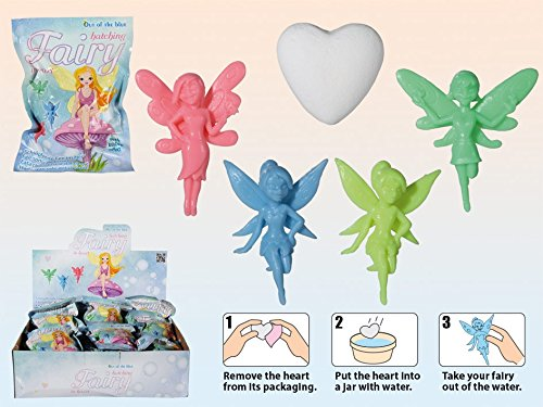 Hatching Fairy In Fizzy Heart ~ Girl's Gift Idea ~ Stocking Filler