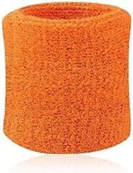 Bandage de poignet support pour sport-Orange