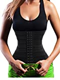 Bingrong Waist Trainer Zipper for Fat Burner Weight loss