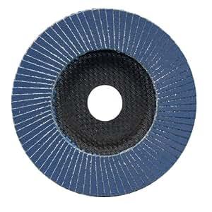 Aparoli SafeProtex 85513 Lot de 10 disques abrasifs pour acier inoxydable/acier/bois/plastique Grain 120 Ø 115 mm