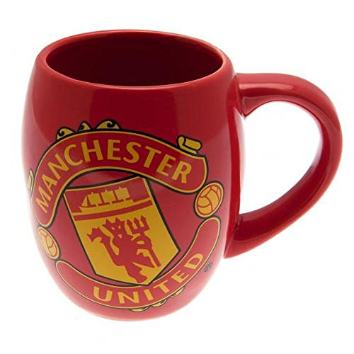 Manchester United FC Official Football Gift Tea Tub Mug – A Great Christmas / Birthday Gift Idea For Men And Boys