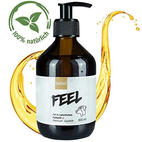 hes Futteröl mit 6 Ölen für Hunde - Fellpflege, Zeckenschutz, essentielle Fettsäuren, Vitamine - Omega 3 6 Hundeöl Fischöl Barf-Öl ()