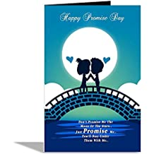 Alwaysgift Just Promise Me Valentines Day Greeting Card
