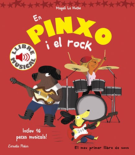 En Pinxo i el rock. Llibre musical por Magali Le Huche