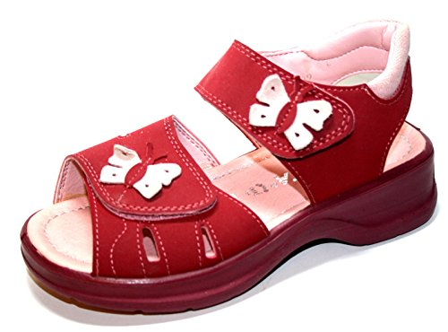 Ricosta  Ling, Sandales pour fille Rose - Pink (rasberry kent)