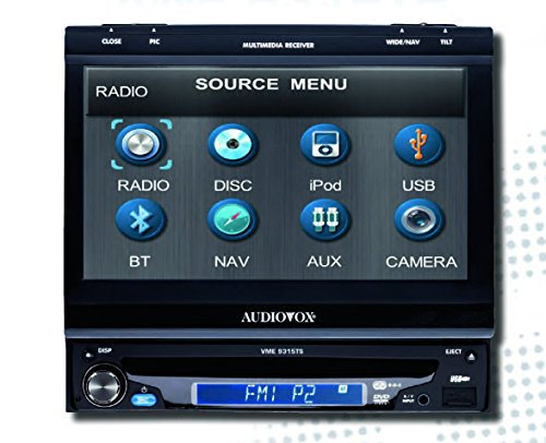 Audiovox VME 9315TS DVD-Player mit 17 cm (7 Zoll) Touch Screen LCD-Monitor