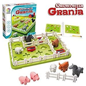 Smart Games- Orden en la Granja, Juego Educativo, Juguetes para niños, (Lúdilo SG091ES)