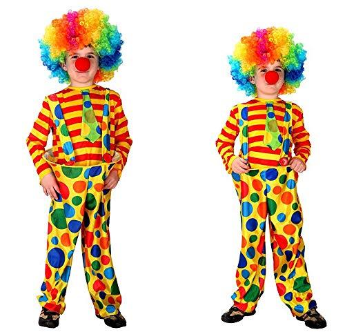 Für Jungs Up Dress Kostüm - Halloween Kostüm Kinder Halloween Kostüm Mädchen Jungen Halloween Cosplay Kleid Kostüm 4-12 Jahre Maske Prom Clown Clown Dress Up Für Jungs (Größe : L)