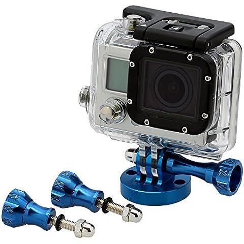 Neewer-Treppiede per fotocamera, 10082811-Kit di montaggio adesivo per GoPro HD Hero 3/4/3/2, colore: blu