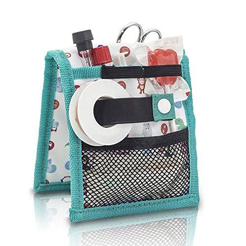 Nero Power Bank 3 Tasche e 2 Elastici Accessori da Viaggio 20 x 12 x 4 5 cm Moleskine Custodia Morbida Metro Cable Astuccio con Zip per Cavi Auricolari