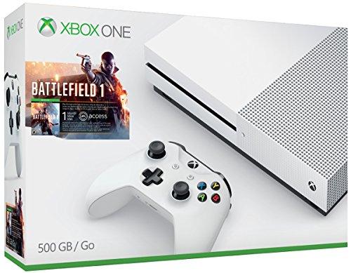 Xbox One S 500GB Console - Battlefield 1 Bundle(Versione USA, importato)