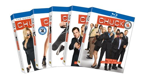 Chuck: Season One - Season Five [Blu-ray], Episodes DVD/BluRay
