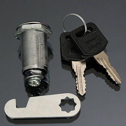 Preisvergleich Produktbild Audew Briefkastenschloß Schrankschloss Zylinderschloß Schloss mit 2 Schlüssel 30MM