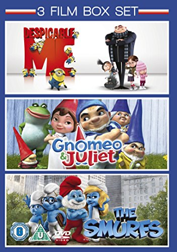 Image of Gnomeo & Juliet / The Smurfs / Despicable Me - Triple Pack [DVD] [2011]