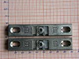 2X SI Siegenia Balkontür Terrassentür Schnäpper A1360 Türschnäpper inkl. Hülse