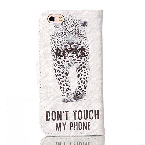 PU Silikon Schutzhülle Handyhülle Painted pc case cover hülle Handy-Fall-Haut Shell Abdeckungen für Smartphone Apple iPhone 6 6S (4.7 Zoll)+Staubstecker (T7) 10