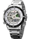 Shark Dual LED Digital Armbanduhr SH046