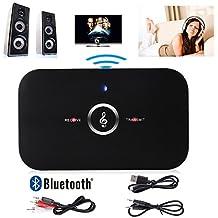 Manos Libres HiFI inalámbrico Bluetooth Audio Transmisor receptor 3.5mm para los Auriculares, Altavoz, TV, PC, Radios de los Coches etc.