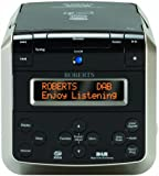 Roberts Sound38 CD/DAB/FM Stereo Clock Radio with CD Bookmark