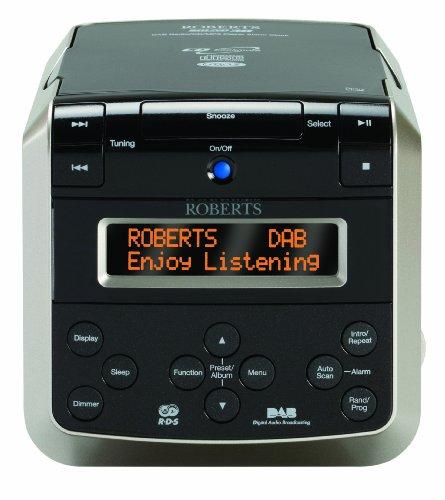 Roberts sound38e Radio mit DAB/DAB +/FM Wecker/CD-Player