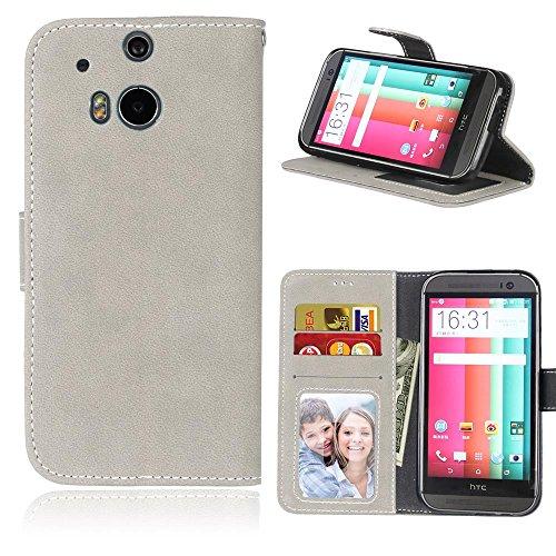 HTC-One-M8-Hlle-Cozy-hut-TPU-Silikon-Hybrid-Handy-Hlle-Matte-Series-Case-Durchsichtig-Stofest-Tasche-Schutz-Scratch-Resistant-de-protection-Case-Tasche-Etui-Shell-fr-HTC-One-M8-Schutzhlle-Folio-Magnet