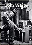 2019 Wall Calendar [12 Pages 20x30cm] Tom Waits Rock Music Legend Vintage Posters