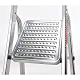 Oryx 23010007 Escalera Aluminio Oryx 7 Peldaños Doméstica