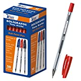D 'Art 79412 Lot de 50 stylos 1 mm Rouge