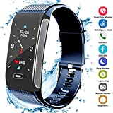 Montre Connectée, Fitness Tracker d'Activité Bracelet avec Podomètre Moniteur de...