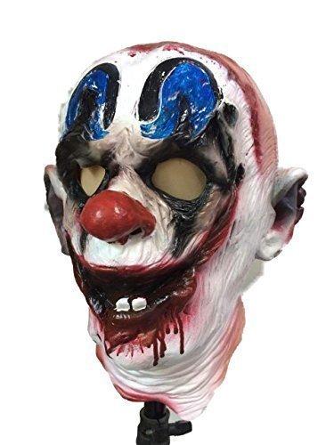 31CLOWN Latex Maske Horrorfilm Kostüm Halloween (Maske Horrorfilm)