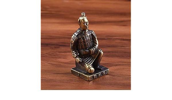 Petit ami FKaiYin Figurine de Collection Ancienne Arm/ée /éternelle : Soldats en Terre Cuite Premier Empereur Cadeaux pour Papa Figurines /à Collectionner Mari