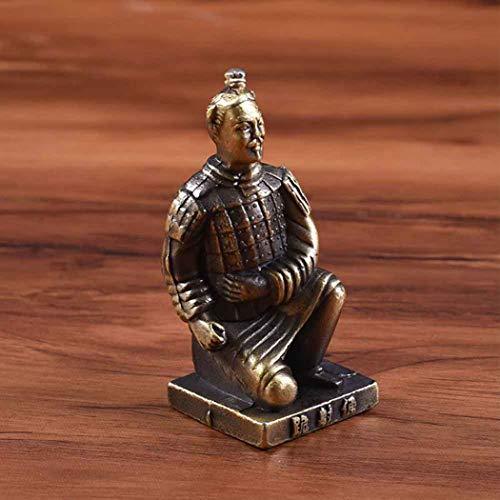 DDTing The Ewige Armee: Terrakotta-Soldaten des Ersten Kaisers - antikes Terrakotta-Krieger, Statuen zum Ausstellen von Sammlerstücken, Geschenk