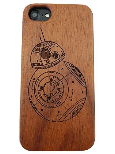 140436d19e5 Apple iPhone 6 / 6S / 7 / 8 Star Wars BB8 Estuche de madera ecológico
