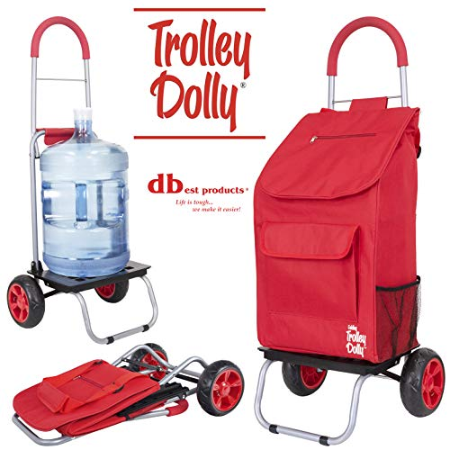 Dbest products Trolley Dolly comestibles Plegable