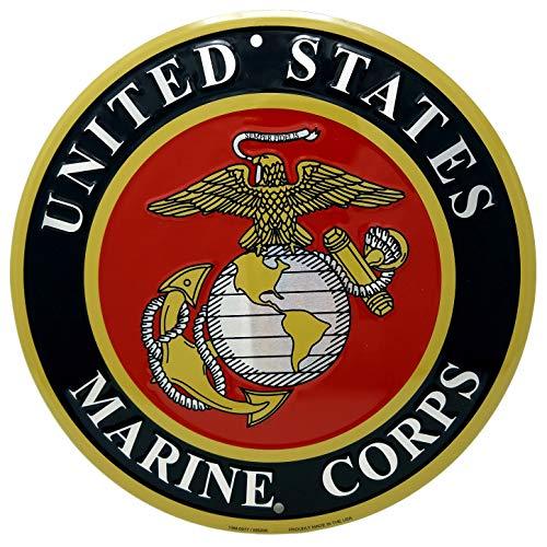 Marine Corps Adler, Globus Und Anker (Ramsons Imports United States Marine Corps Emblem, 30,5 cm, rund)