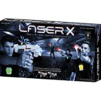 Laser X 88016 Two Player Laser Gaming Set, 2units, 1 Unit