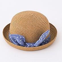 iBaste Lindo Niños Bebé Sombrero de Paja Playa Sombra Transpirable Gorros  de Sol de Deporte Aire 10efe6295d1