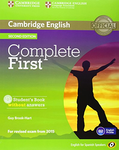 Complete First for Spanish Speakers Student's Pack without Answers (Student's Book with CD-ROM, Workbook with Audio CD) 2nd Edition