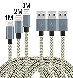 iPhone Kabel, Leginda 2er Pack 2M Lightning Kabel USB Kabel Aufgeladen Lange Kabel für...