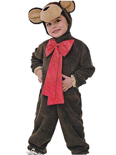 Kostüm Kostüm Baby Bär Teddybär Kostüm Tier * 17602, Mehrfarbig Einheitsgröße (Teddybär Baby Kostüme)