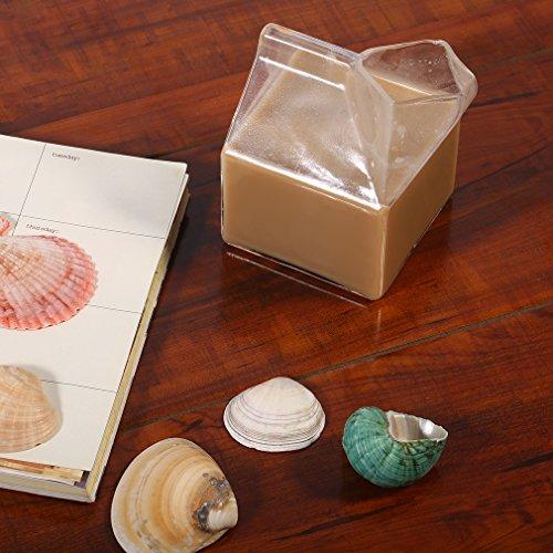 Milchkarton Glas Tasse Kaffee Glas Saftbecher Pure Handarbeit Heimzubehör ()