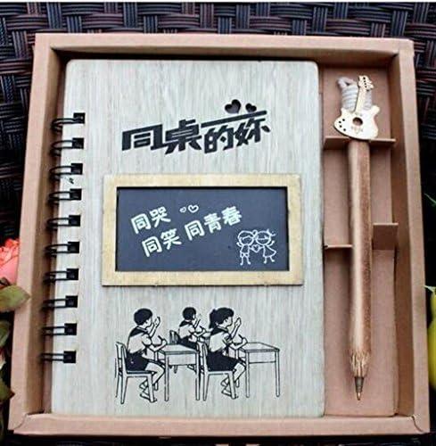 Sun Glower Fournitures scolaires scolaires scolaires de bureau Journal en bois créatif pour étudiants cadeau de cahier avec stylo Coffret Cadeau Papeterie B07GLSQ61X | Apparence Attrayante  3d82b6