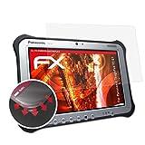 atFolix Schutzfolie passend für Panasonic ToughPad FZ-G1 Folie, entspiegelnde & Flexible FX Bildschirmschutzfolie (2X)