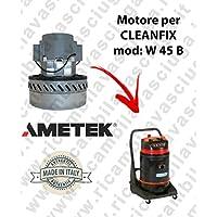 W 45B Motor ametek de aspiración para aspiradora y te Cleanfix